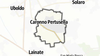 Mapa / Caronno Pertusella