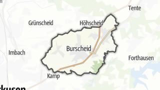 Carte / Burscheid