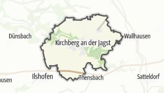 מפה / Kirchberg an der Jagst