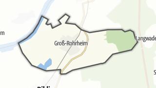 Carte / Groß-Rohrheim