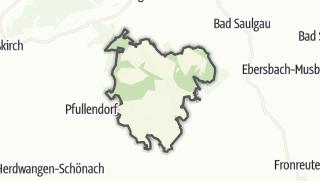 Mapa / Ostrach