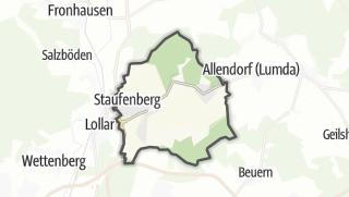 Mapa / Staufenberg