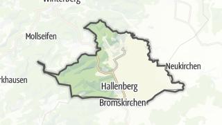 Karte / Hallenberg