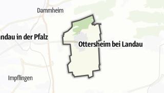 Mapa / Offenbach an der Queich