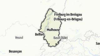 Map / Haut-Rhin