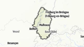 地图 / Haut-Rhin