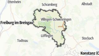 Karte / Schwarzwald-Baar-Kreis