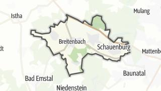 Karte / Schauenburg