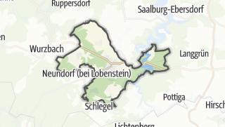 Mapa / Bad Lobenstein