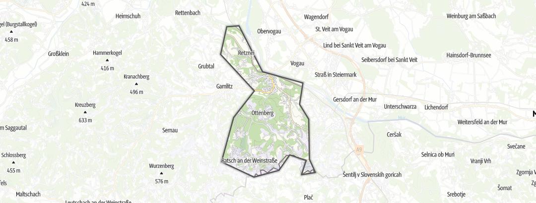 מפה / דירות נופש ב Ehrenhausen
