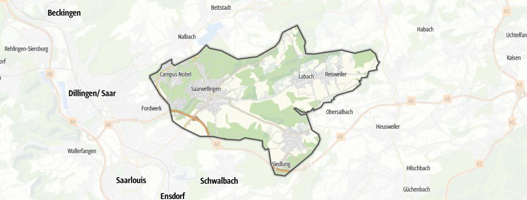 Kart / Landeveisykkel i Saarwellingen