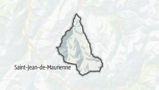 Map / Saint-Martin-de-Belleville
