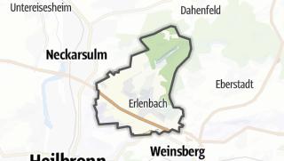 地图 / Erlenbach