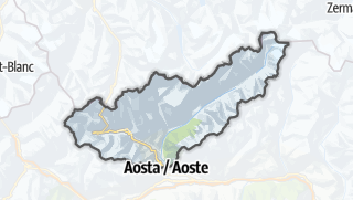 Karte / Großer Sankt Bernhard