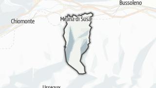 מפה / Meana di Susa