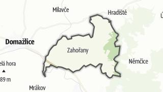 מפה / Zahorany
