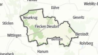 地图 / Flecken Diesdorf