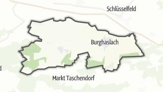 地图 / Burghaslach