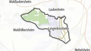 Karte / Langenlonsheim