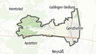 Cartina / Gersthofen