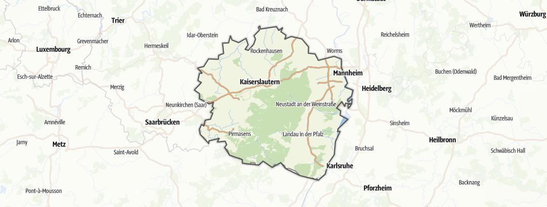 Kart / Sykkeltur i Pfalz