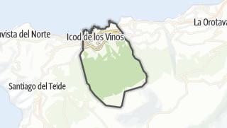 Mapa / Icod de los Vinos