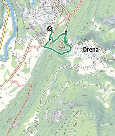 Cartina / Via Ferrata Rio Sallagoni