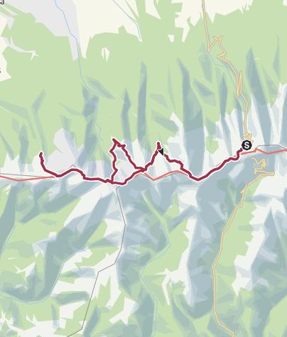 Karte / Karpaten-Tour