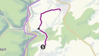 Karte / Mit dem Rad von Holzbronn über den Hof Dicke zum MvLG
