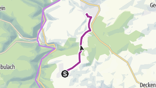 Karte / Mit dem Rad von Holzbronn über den Hof Lindach zum MvLG