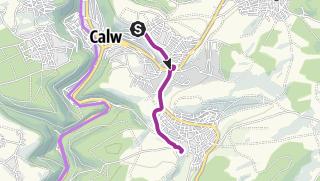 Karte / Mit dem Rad von Heumaden an das MvLG