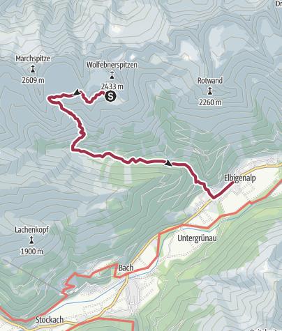 Map / Terugtocht --> Aspi's