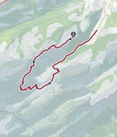 Mapa / Ebenalp - Meglisalp - Wasserauen