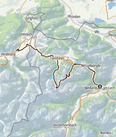 Map / 2015 - MTB TransAlp - Day 2