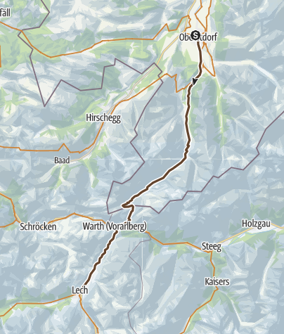 Map / 2015 - MTB TransAlp - Day 4
