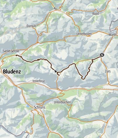 Map / 2015 - MTB TransAlp - Day 5