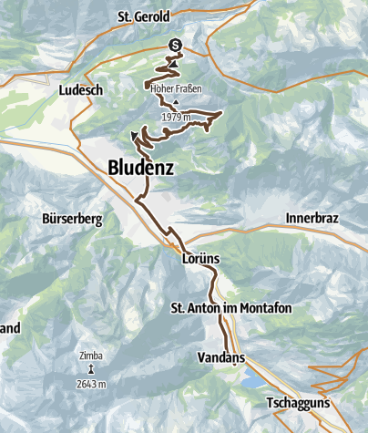 Map / 2015 - MTB TransAlp - Day 6