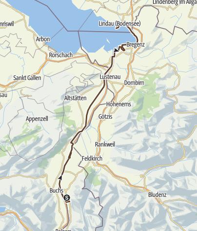 Map / 2015 - MTB TransAlp - Day 8