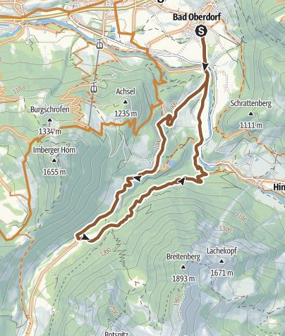 Map / Mitterhaus Route