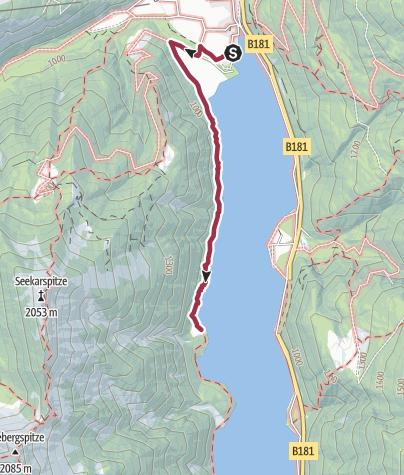 Karte / Mariensteig