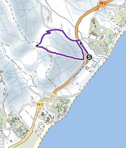 Karte / Tourenplanung am 9. August 2015