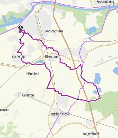 Karte / 11. August 2015 Ingoradler Tour zum Fuchsbau