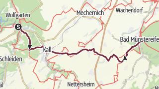 Karte / Weg der Deutschen Einheit 4. Etappe