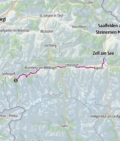 Carte / Krimml to Zell am See, August 25, 2015