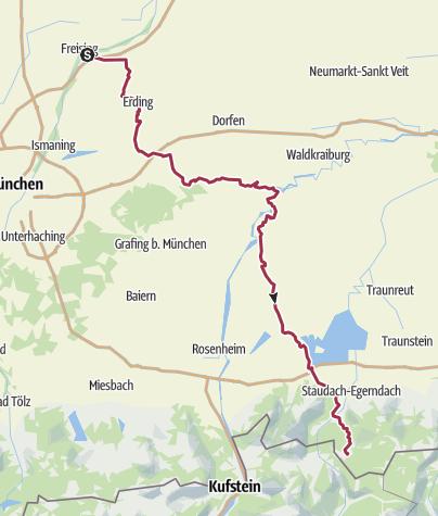 Karte / Freising - Reit im Winkel