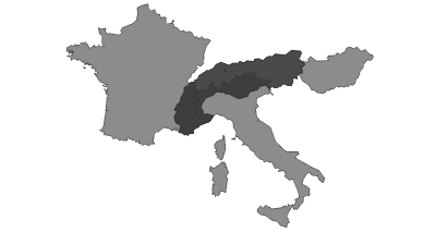 Térkép / Alps