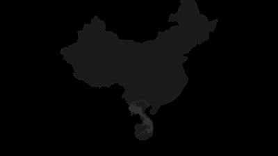 Hartă / Annamite Cordillera