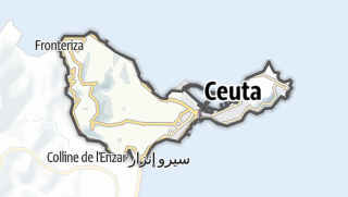 Map / Ceuta