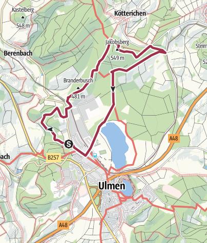 Karte / Wandern bei Hexen, Henker und Halunken