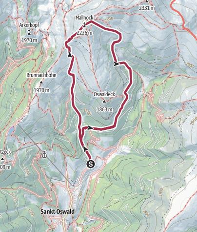 Mapa / Mallnock
